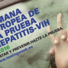 Semana Europea de la prueba de VIH y Hepatitis