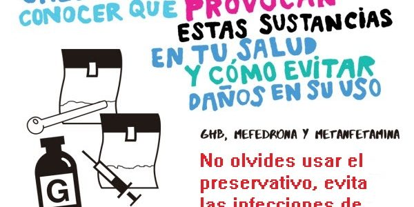 Advertencia sobre el CHEMSEX