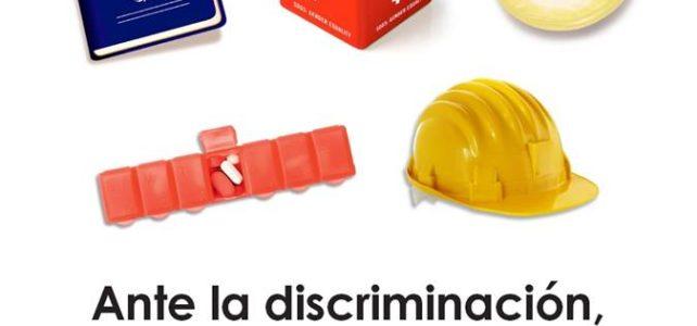 DÍA MUNDIAL DEL SIDA 2017. 1 de diciembre. Ante la discriminación, sonrójate