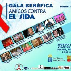 APLAZAMIENTO GALA BENÉFICA AMIGOS CONTRA EL SIDA