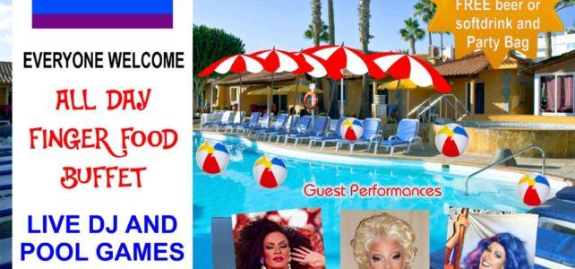 Fiesta piscina – Pool Party – Los Almendros